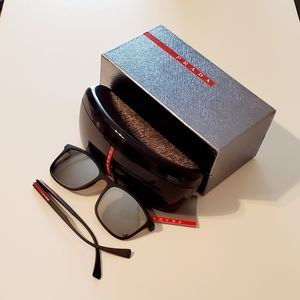 Prada Linea Rossa Sunglasses Men DG0-2B0 Parts